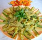 Contorno di zucchine e cetrioli
