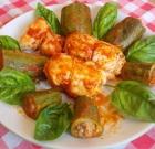 Fagottini di pollo con zucchine ripiene
