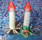 Candele alla frutta per carnevale