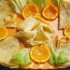 Salviette con marmellata d'arance