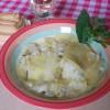 Piatto unico con i filetti di Baccalà