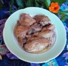 Pollo asado a la criolla