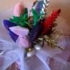 Bouquet natalizio fai da te
