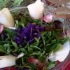 Violette nel piatto